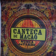 Carteles Feria: MANTECA DE CACAO - NUNCA ES TARDE CARTEL 100X140CM. APROX.. Lote 48720189