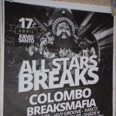 Carteles Feria: ALL STARS BREAKS CARTEL 100X140CM. APROX.. Lote 48721069