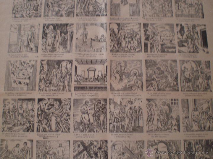 Carteles Feria: AUCA DE LA PASSIÓ DE MATARÓ. SALA CABANYES. IMPRENTA PORCAR. PUBLICIDAD MORFEO. MARESME. 1935 - Foto 4 - 69888307