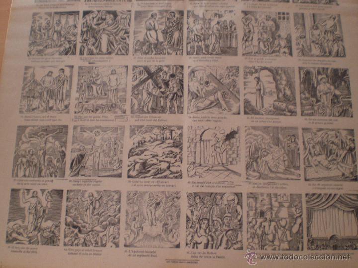 Carteles Feria: AUCA DE LA PASSIÓ DE MATARÓ. SALA CABANYES. IMPRENTA PORCAR. PUBLICIDAD MORFEO. MARESME. 1935 - Foto 5 - 69888307