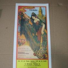 Carteles Feria: CARTEL PLAZA DE TOROS DE CORDOBA 1991. MEDIDAS 20X49 CM. Lote 49258305