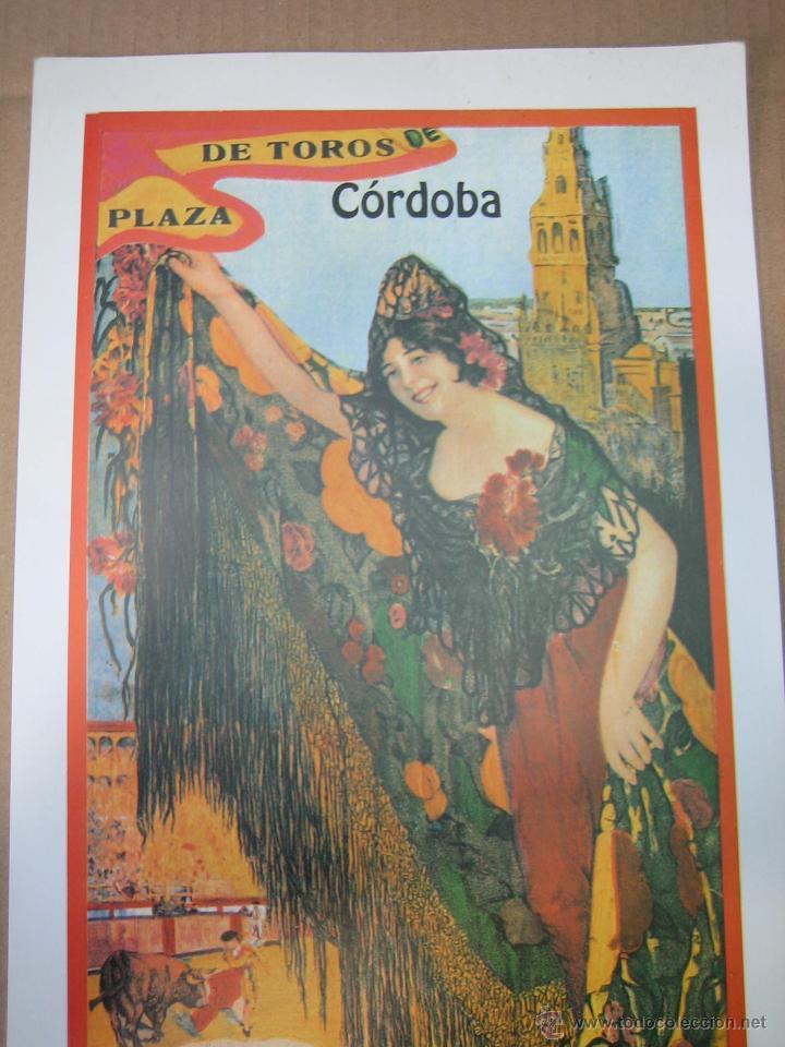 Carteles Feria: Cartel plaza de toros de Cordoba 1991. Medidas 20X49 cm - Foto 2 - 49258305