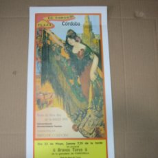 Carteles Feria: CARTEL PLAZA DE TOROS DE CORDOBA 1991.MEDIDAS 20XX49 CM. Lote 49258437