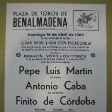 Carteles Feria - Cartel plaza de toros de Benalmádena - 49258939