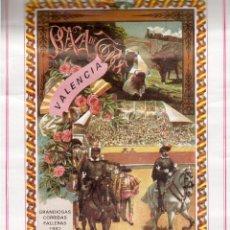 Cartazes Feira: FALLAS DE VALENCIA CORRIDAS DE TOROS PROGRAMA. Lote 50027082