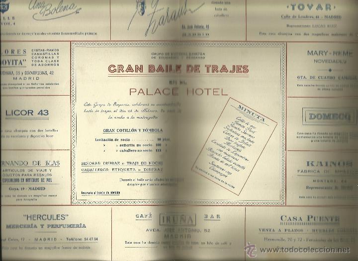 Carteles Feria: Cartel Baile de Trajes 1953 - Foto 3 - 50156693