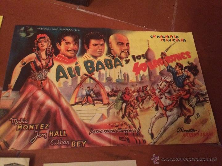 Carteles Feria: Antiguos 5 carteles de cine de los años 50 Sofia Loren y varios artistas mas - Foto 2 - 50363001