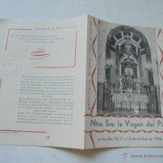 Plakate Volksfeste - GUIÓN DEL CARTEL DE FIESTAS DE NTRA. SRA. LA VIRGEN DEL PILAR- 1946-IMP. S. BOTELLA-ALCOY - 50505228