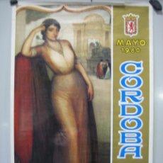 Carteles Feria: CARTEL FERIA DE CÓRDOBA 1980. MEDIDAS 50X70 CM. Lote 50627216