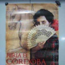 Affiches Foire: CARTEL FERIA DE CÓRDOBA 2011. MEDIDAS 44X66 CM. Lote 50627384