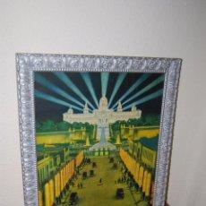 Carteles Feria: CARTEL ORIGINAL DE LA EXPOSICIÓN UNIVERSAL DE BARCELONA 1929 - MONTJUIC. Lote 52486415