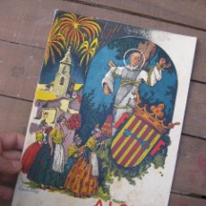 Carteles Feria: REVISTA ANTIGUA ALCIRA FERIA Y FIESTAS ALZIRA 1959 - 1. Lote 52962245