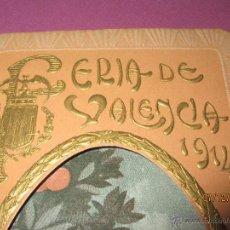 Carteles Feria: ANTIGUO PROGRAMA OFICIAL DE FESTEJOS DE LA FERIA DE VALENCIA DEL AÑO 1914. Lote 53210534