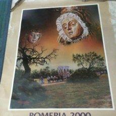 Carteles Feria: ROMERÍA DEL ROCÍO AÑO 2000. HERMANDAD DE GRANADA. PÓSTER PUBLICITARIO. 50 X 70 CM.. Lote 55573434