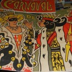 Carteles Feria: (M) CARTEL - CARNAVAL DE BARCELONA 1900 ( ORIGINAL ) ILUST. CLAUSSOLES Y R FONT . Lote 56298884