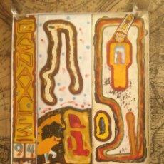 Carteles Feria: 1994 CARTEL CARNAVALES BILBAO BILBOKO IHAUTERIAK. Lote 56491546