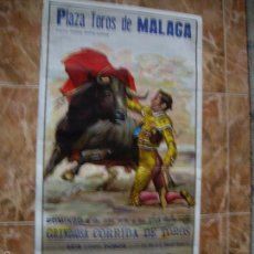 Carteles Feria: PLAZA DE TOROS DE MALAGA 1979. Lote 56608183