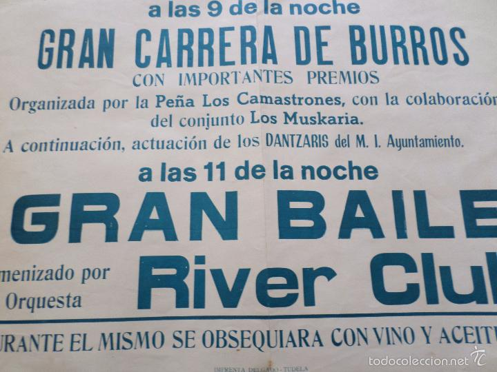 Carteles Feria: CARTEL GRAN VERBENA DEL BARRIO DE SAN JAIME TUDELA NAVARRA - Foto 6 - 57582627