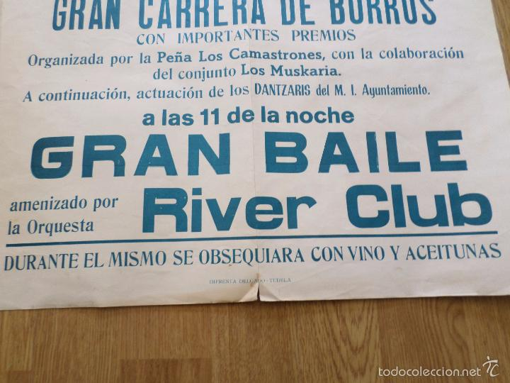 Carteles Feria: CARTEL GRAN VERBENA DEL BARRIO DE SAN JAIME TUDELA NAVARRA - Foto 7 - 57582627