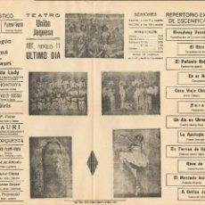 Carteles Feria: CARTEL ESPECTÁCULO 1934 CASINO UNIÓN JAQUESA . Lote 58005575