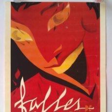 Carteles Feria: FALLES DE VALENCIA 1992, CARTEL DE FALLAS DE VALENCIA. AÑO 1992. Lote 58860856