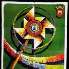 Carteles Feria: BURGOS. CARTEL FERIAS Y FIESTAS DE SAN PEDRO Y SAN PABLO. AÑO: 1972. ORIGINAL.. Lote 59923315