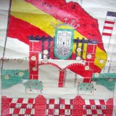 Carteles Feria: GRANDE CARTEL ORIGINAL - DIBUJO - FERIA Y FIESTAS PATRONALES SAN ROQUE AÑO 1969 - FIRMADO GALLARDO. Lote 61103839