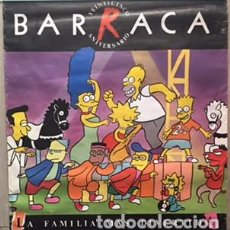 Carteles Feria: POSTER CARTEL ORIGINAL DE DISCOTECA BARRACA VALENCIA 25 ANIVERSARIO RUTA DEL BAKALAO DESTROY BACALAO. Lote 61850364