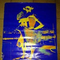 Carteles Feria: ANTIGUO CARTEL FERIA DE ABRIL SEVILLA 1975. Lote 62358200
