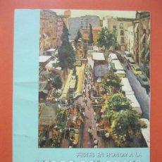 Carteles Feria: PROGRAMA FESTES VERGE DEL ROSER TARRAGONA DEL 2 AL 8 D´OCTUBRE 1990. Lote 63183236