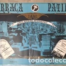 Carteles Feria: POSTER CARTEL ORIGINAL DE LA DISCOTECA BARRACA VALENCIA RUTA DEL BAKALAO DESTROY BACALAO. Lote 63583600