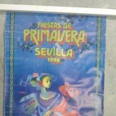 Carteles Feria: CARTEL FERIA DE ABRIL DE SEVILLA 1988. Lote 64401159