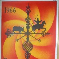 Carteles Feria: CARTEL FERIAS Y FIESTAS SALAMANCA 1966. ILUSTRADOR GENARO DE NO. Lote 71712571