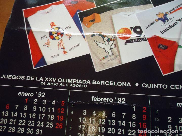 Carteles Feria: ALMANAQUE massana 1992 papel duro . expo sevilla mascotas curro cobi barcelona 92 - Foto 7 - 72455735