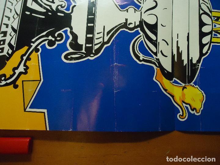 Carteles Feria: GRAN CARTEL TROFEO estadio CARRANZA FUTBOL 1980 CADIZ REAL BETIS FLAMENGO DINAMO TBILIST - Foto 2 - 72469887