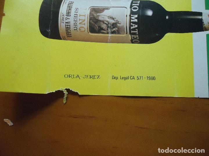 Carteles Feria: GRAN CARTEL TROFEO estadio CARRANZA FUTBOL 1980 CADIZ REAL BETIS FLAMENGO DINAMO TBILIST - Foto 3 - 72469887