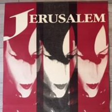 Carteles Feria: POSTER CARTEL ORIGINAL DISCOTECA JERUSALEM VALENCIA 1991 RUTA DEL BAKALAO DESTROY. Lote 72775771