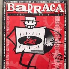 Carteles Feria: POSTER CARTEL DISCOTECA BARRACA VALENCIA 2º ANIVERSARIO PERESTROIKA RUTA DEL BAKALAO DESTROY. Lote 72871935