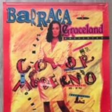 Carteles Feria: POSTER CARTEL ORIGINAL DISCOTECA BARRACA GRACELAND 1992 RUTA DEL BAKALAO DESTROY BACALAO. Lote 72872059