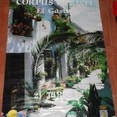 Carteles Feria: CARTEL DEL CORPUS CHRISTI EN EL GASTOR (CÁDIZ), 1992. Lote 73459167