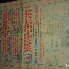 Carteles Feria - Plaza de toros zaragoza 1979 - 79703241