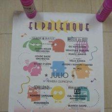 Carteles Feria: CARTEL DE LA EXPO 92 DE SEVILLA EL PALENQUE. Lote 79988849
