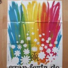 Carteles Feria: CARTEL FIESTAS, GRAN FERIA VALENCIA, 1975, FERIA DE JULIO, JUAN ARAQUE, CF6. Lote 82487992