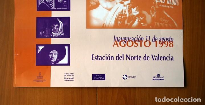 Carteles Feria: Fondos Carteles, Biblioteca Valenciana, Imágenes de Cine - Año 1998 - Póster Tamaño 49x68 - Foto 2 - 82831904
