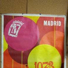 Carteles Feria: CARTEL FIESTAS DE SAN ISIDRO. MADRID 1973. ILUSTRADOR LEO ANCHORIZ. 100 X 70 CM. Lote 83087140