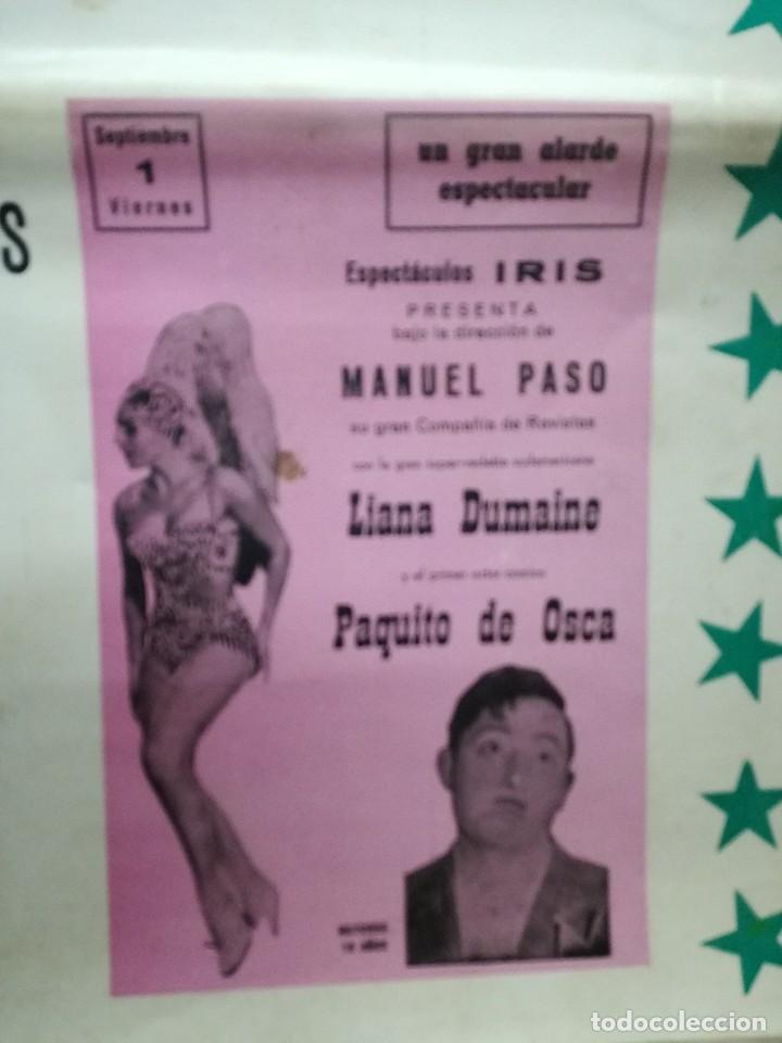 Carteles Feria: FIESTAS DE CALAHORRA 50X87 CM.AÑO 1967,TEATRO IDEAL.COMEDIAS Y TEATRO - Foto 3 - 84688916
