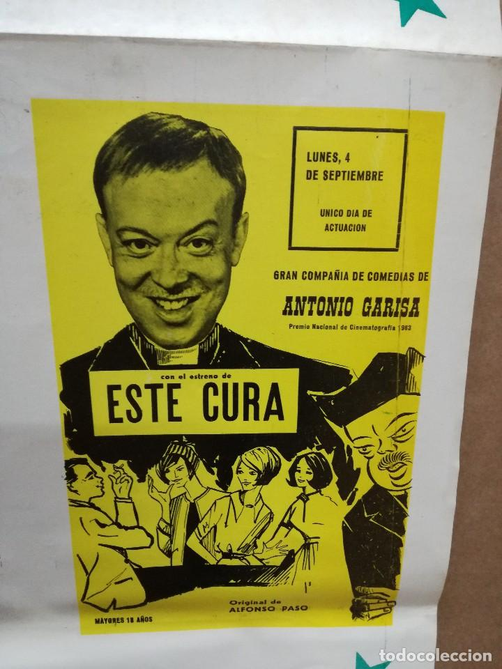Carteles Feria: FIESTAS DE CALAHORRA 50X87 CM.AÑO 1967,TEATRO IDEAL.COMEDIAS Y TEATRO - Foto 6 - 84688916