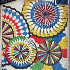 Cartazes Feira: CARTEL FERIA Y FIESTAS DE JATIVA, XATIVA VALENCIA, 1971 , BELLOD , ORIGINAL. Lote 84728476