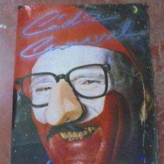 Carteles Feria: CARTEL. CARNAVAL DE CADIZ. 1987. DISEÑO HERNAN CORTES. 1100X68 CM.. Lote 84792756