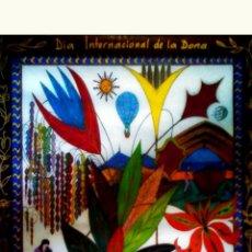 Affissi Fiera: CARTEL DEL - DIA INTERNACIONAL DE LA DONA - INSTITUT VALENCIA DE LA DONA 1991 , TAMAÑO 70X100. DISEÑ. Lote 85944380